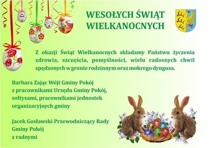 Życzenia Wielkanocne 2018 - www.jpeg