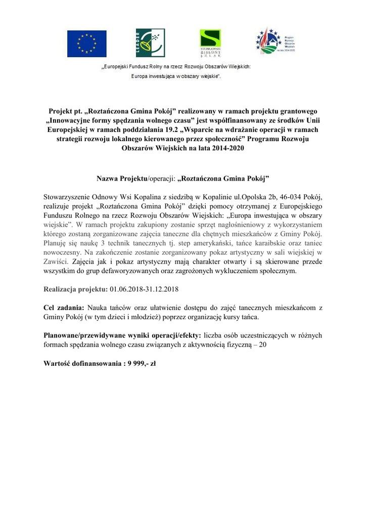 INFO o projecie Roztańńczona Gmina Pokój.jpeg