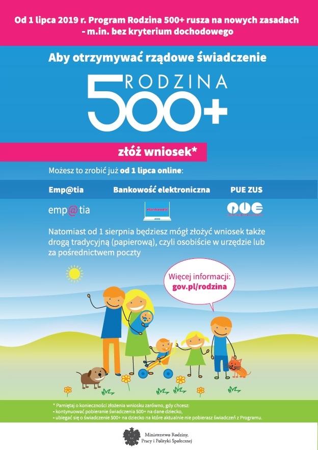 Program Rodzina 500+ plakat.jpeg