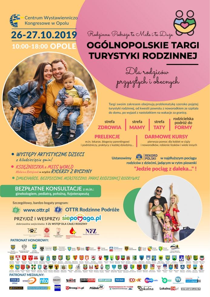 Plakat - Ogólnopolskie Targi Turystyki Rodzinnej.jpeg