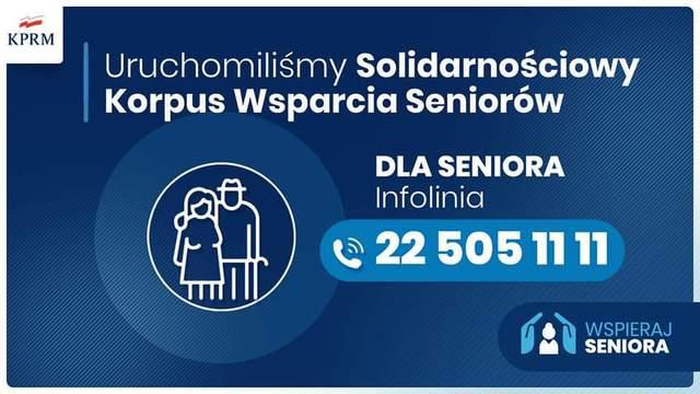 Materiał KPRM Uruchomiliśmy Solidarnościowy Korpus Wsparcia Seniorów