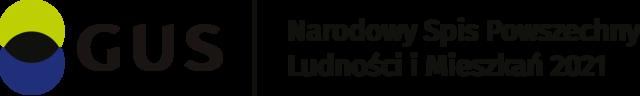 Logo Narodowego Spisu Powszechnego Ludności i Mieszkań 2021