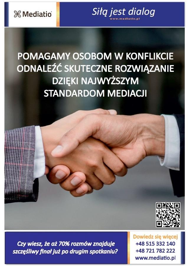 Plakat: Projekt Siłą jest dialog