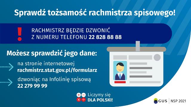 Narodowy Spis Powszechny Ludności i Mieszkań 2021 - numery telefonów, z których dzwonią rachmistrzowie