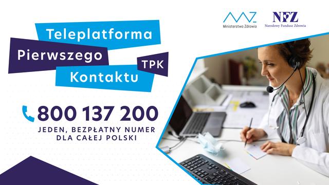 Baner: Teleplatformy Pierwszego Kontaktu (TPK)