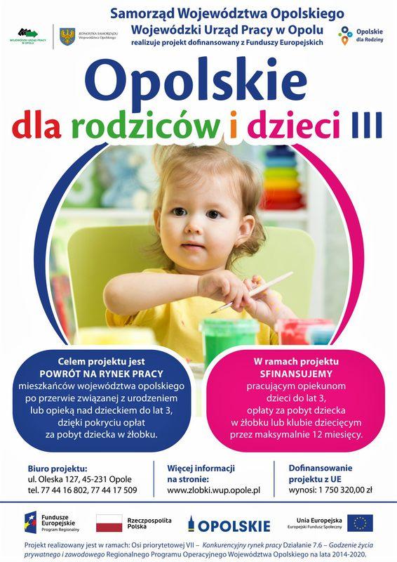 Opolskie dla rodziców i dzieci III