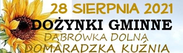 DOŻYNKI GMINNE - Dąbrówka Dolna - Domaradzka Kuźnia