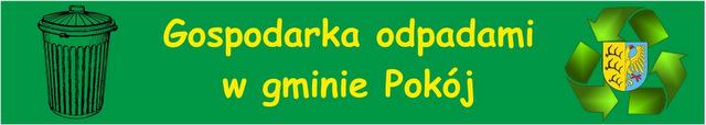 Link do podstrony Gospodarka odpadami w gminie Pokój