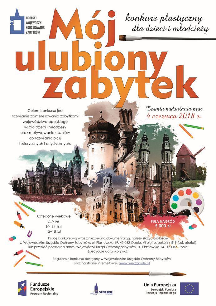 WUOZ w Opolu - konkurs platyczny - plakat www.jpeg
