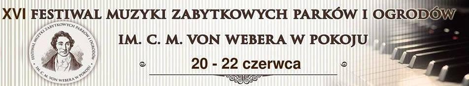 XVI Festiwal Muzyki ZPiO im. C.M.von Webera w Pokoju - baner 1.jpeg